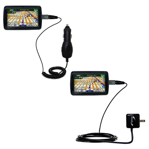 Car & Home Charger Kit compatible with the Garmin Nuvi 855