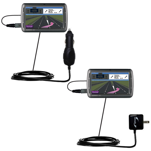 Car & Home Charger Kit compatible with the Garmin Nuvi 860 865Tpro