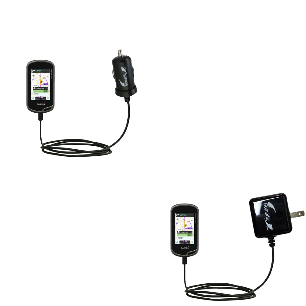 Car & Home Charger Kit compatible with the Garmin Oregon 600 / 650 / 650t