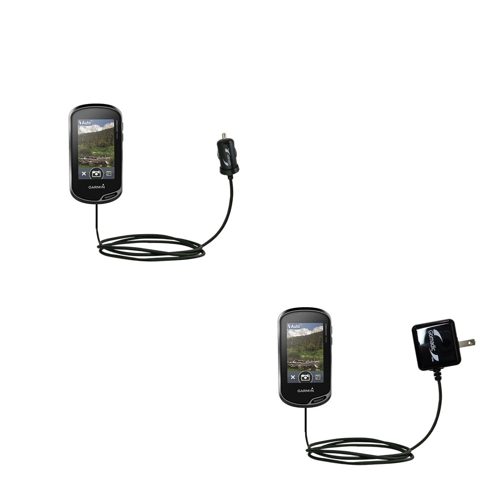 Car & Home Charger Kit compatible with the Garmin Oregon 750 / 750t