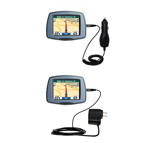 Car & Home Charger Kit compatible with the Garmin StreetPilot C310