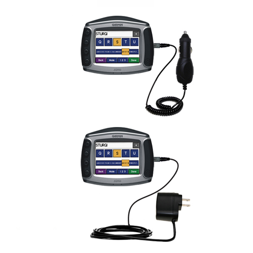 Car & Home Charger Kit compatible with the Garmin Zumo 450