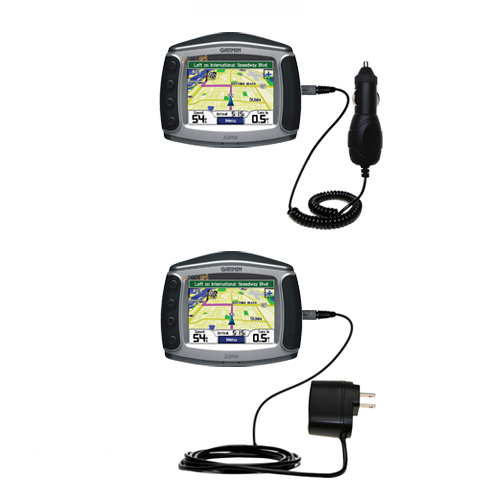 Car & Home Charger Kit compatible with the Garmin Zumo 550