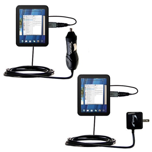 Car & Home Charger Kit compatible with the HP TouchPad