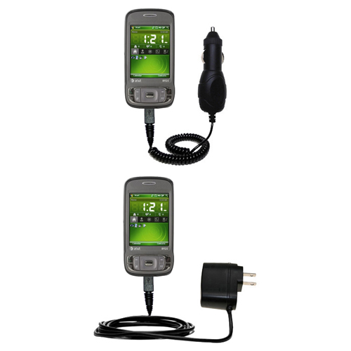 Car & Home Charger Kit compatible with the HTC 8925