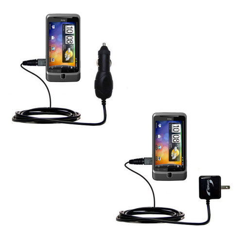 Car & Home Charger Kit compatible with the HTC Desire Z