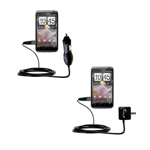 Car & Home Charger Kit compatible with the HTC Droid Thunderbolt