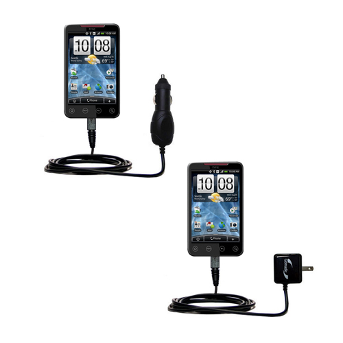 Car & Home Charger Kit compatible with the HTC EVO 4G