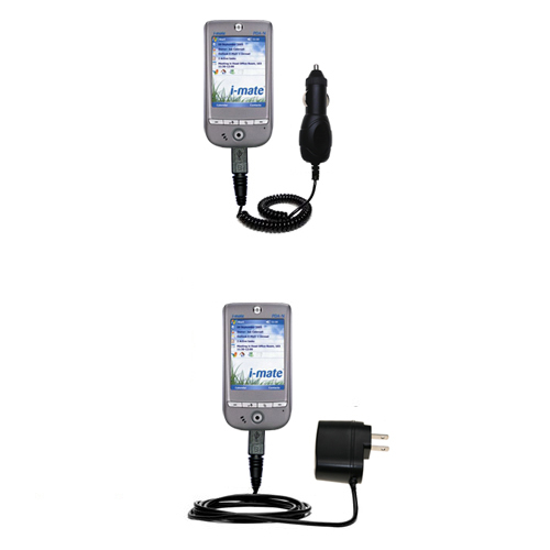 Car & Home Charger Kit compatible with the HTC Galaxy