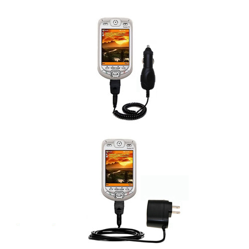 Car & Home Charger Kit compatible with the HTC Harrier Smartphone