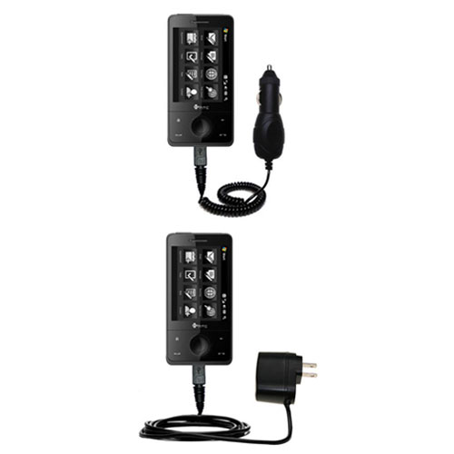 Car & Home Charger Kit compatible with the HTC Herman