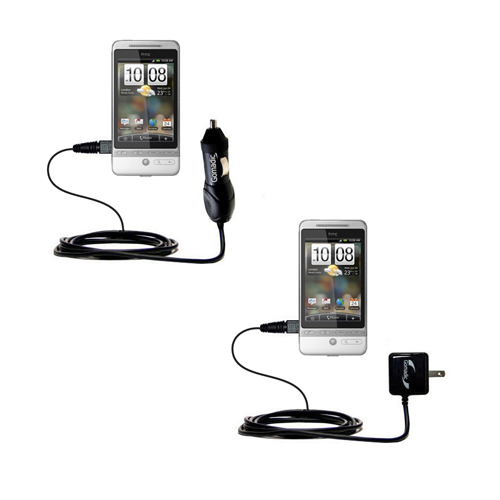 Car & Home Charger Kit compatible with the HTC Hero 4G