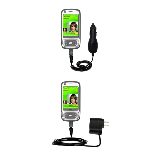 Car & Home Charger Kit compatible with the HTC Kaiser