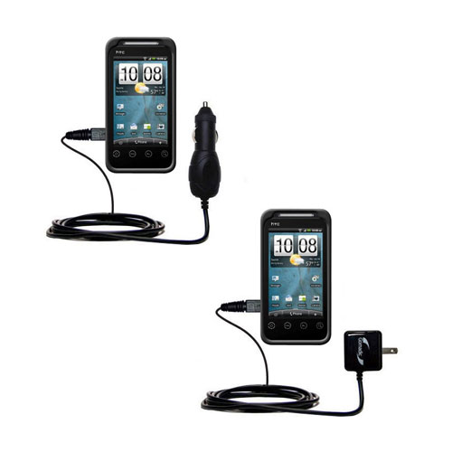 Car & Home Charger Kit compatible with the HTC Knight
