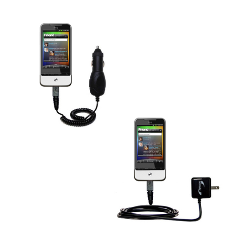 Car & Home Charger Kit compatible with the HTC Legend