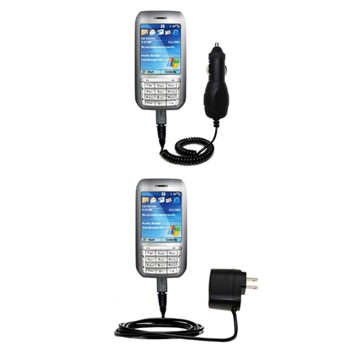 Car & Home Charger Kit compatible with the HTC Libra