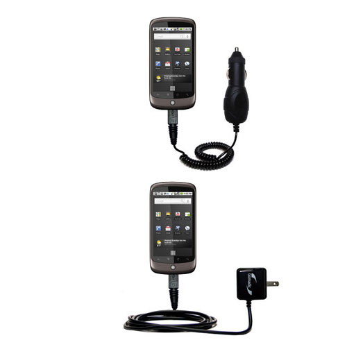 Car & Home Charger Kit compatible with the HTC Nexus One