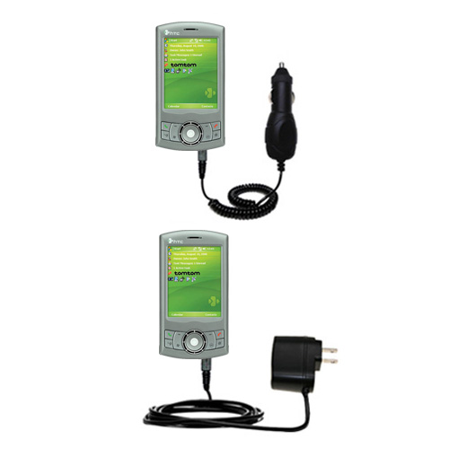 Car & Home Charger Kit compatible with the HTC P3300