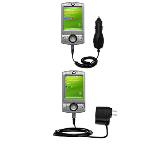 Car & Home Charger Kit compatible with the HTC P3350