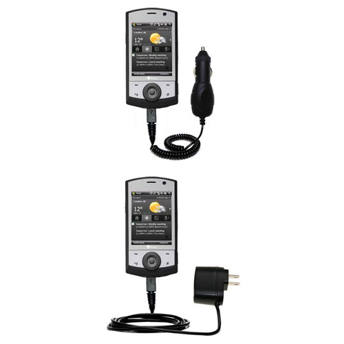 Car & Home Charger Kit compatible with the HTC Polaris