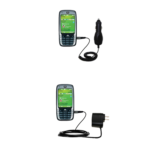 Car & Home Charger Kit compatible with the HTC S710