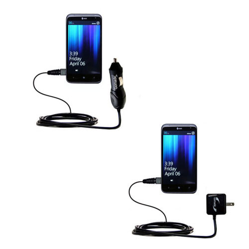 Car & Home Charger Kit compatible with the HTC Titan II