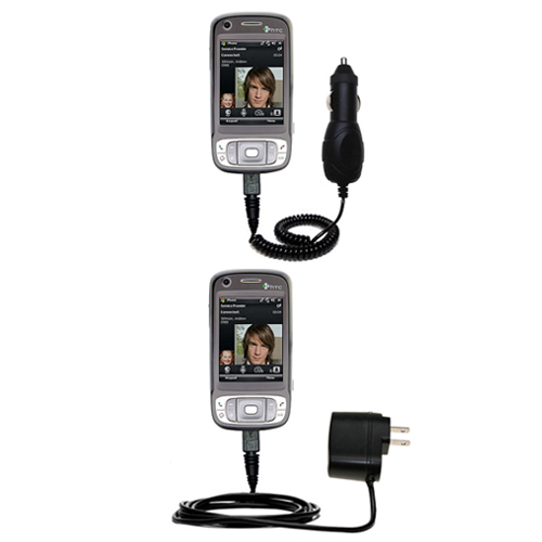 Car & Home Charger Kit compatible with the HTC TyTN II