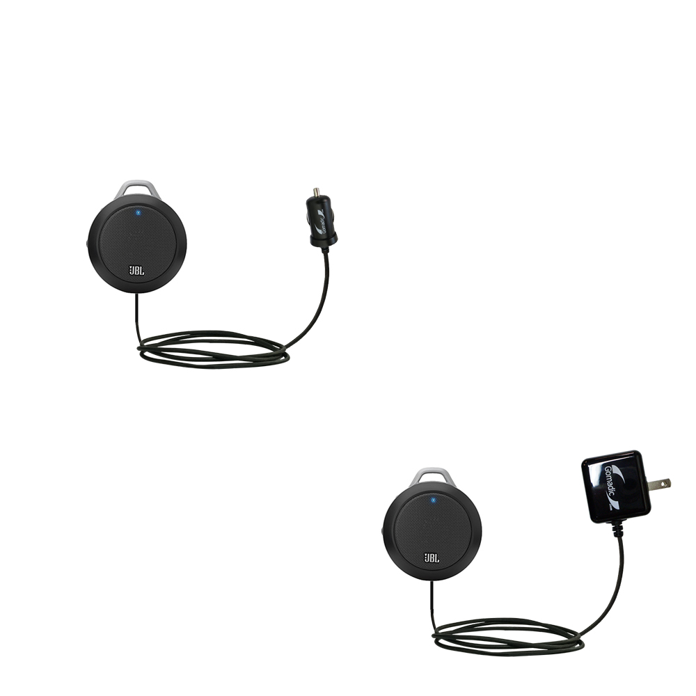 Car & Home Charger Kit compatible with the JBL Micro II