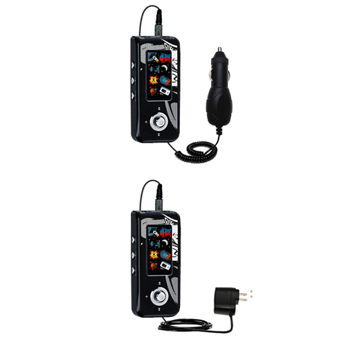 Car & Home Charger Kit compatible with the Jens of Sweden MP-450