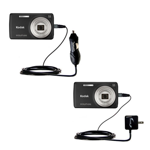 Car & Home Charger Kit compatible with the Kodak EasyShare M552