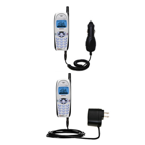 Car & Home Charger Kit compatible with the Kyocera KWC 2235