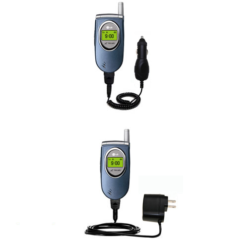 Car & Home Charger Kit compatible with the LG 6070