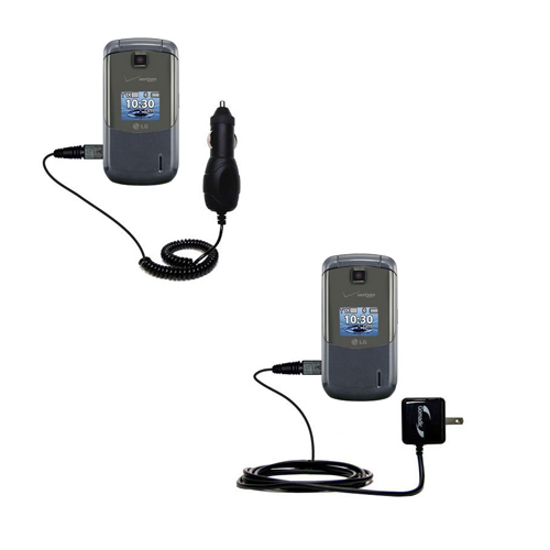 Car & Home Charger Kit compatible with the LG Accolade