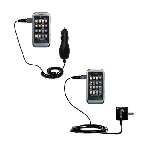 Car & Home Charger Kit compatible with the LG Arena