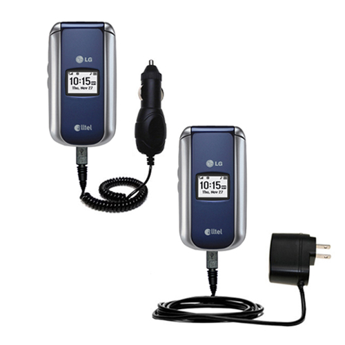 Car & Home Charger Kit compatible with the LG AX155