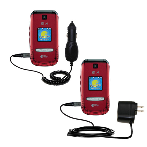 Car & Home Charger Kit compatible with the LG AX500