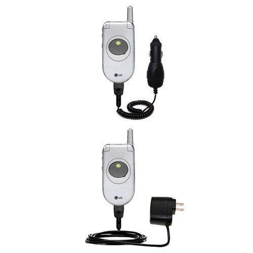 Car & Home Charger Kit compatible with the LG C1300