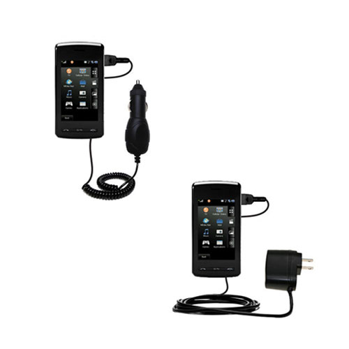 Car & Home Charger Kit compatible with the LG CU920
