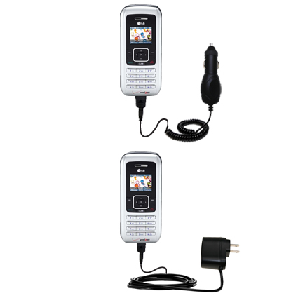 Car & Home Charger Kit compatible with the LG EnV
