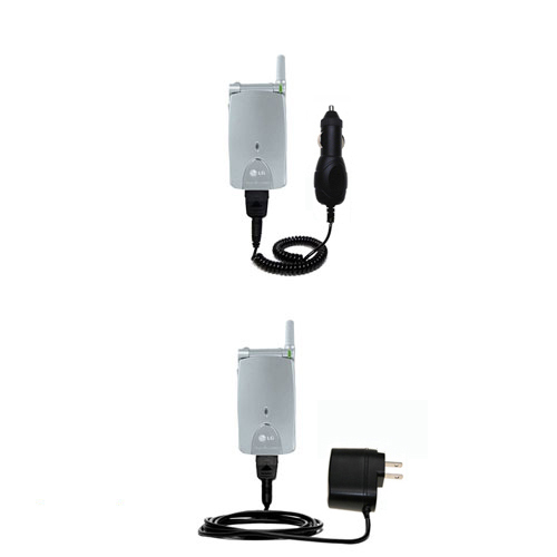 Car & Home Charger Kit compatible with the LG G4010