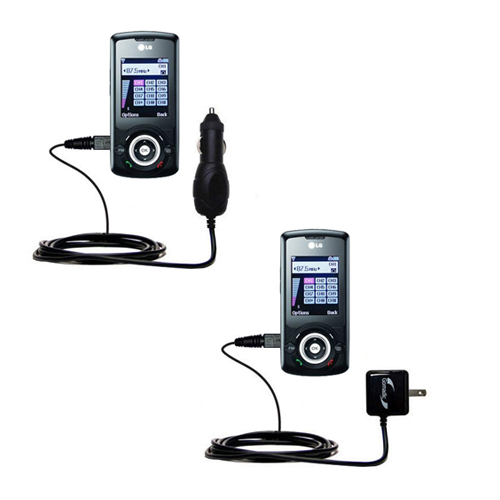 Car & Home Charger Kit compatible with the LG GB130