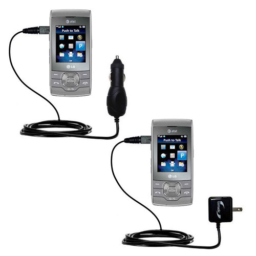 Car & Home Charger Kit compatible with the LG GU292