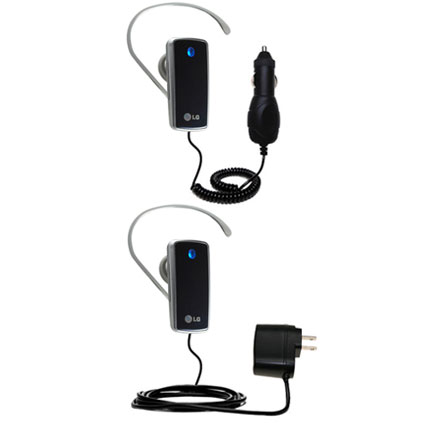 Car & Home Charger Kit compatible with the LG HBM-770
