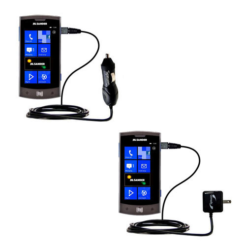 Car & Home Charger Kit compatible with the LG Jil Sander