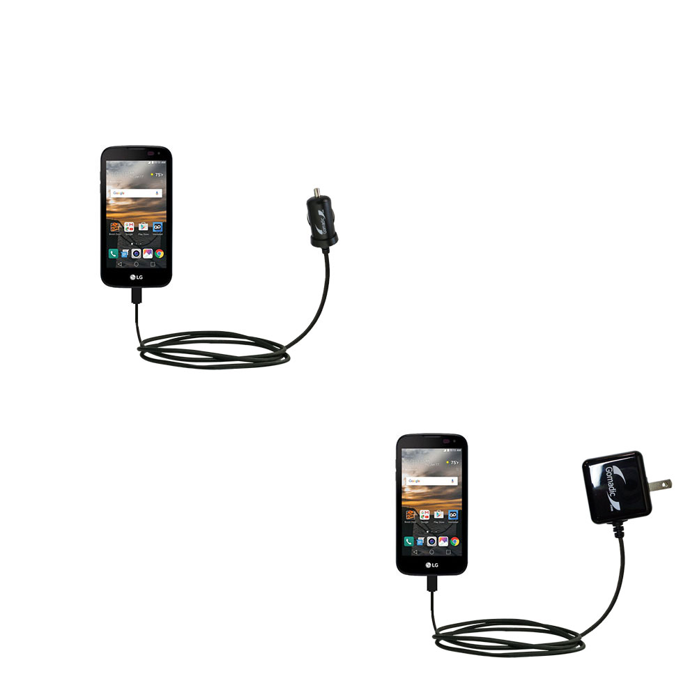 Car & Home Charger Kit compatible with the LG K3