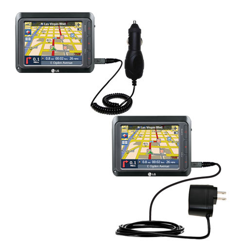 Car & Home Charger Kit compatible with the LG LN740
