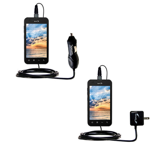 Car & Home Charger Kit compatible with the LG Marquee