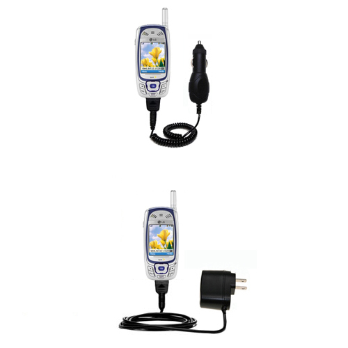 Car & Home Charger Kit compatible with the LG MM-535
