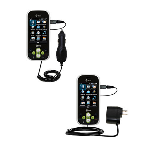 Car & Home Charger Kit compatible with the LG Neon