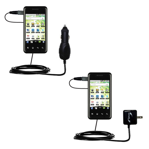 Car & Home Charger Kit compatible with the LG Optimus Chic